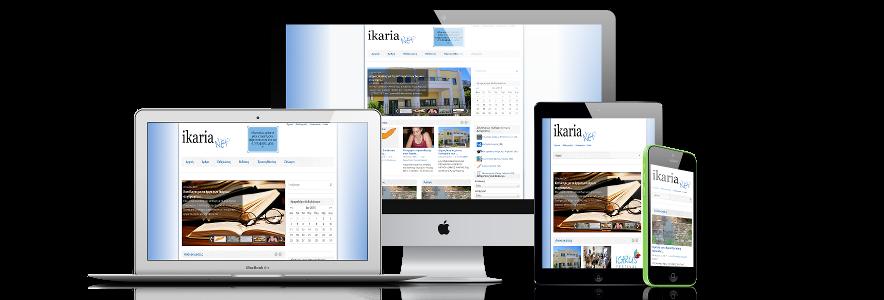 ikarianet responsive design