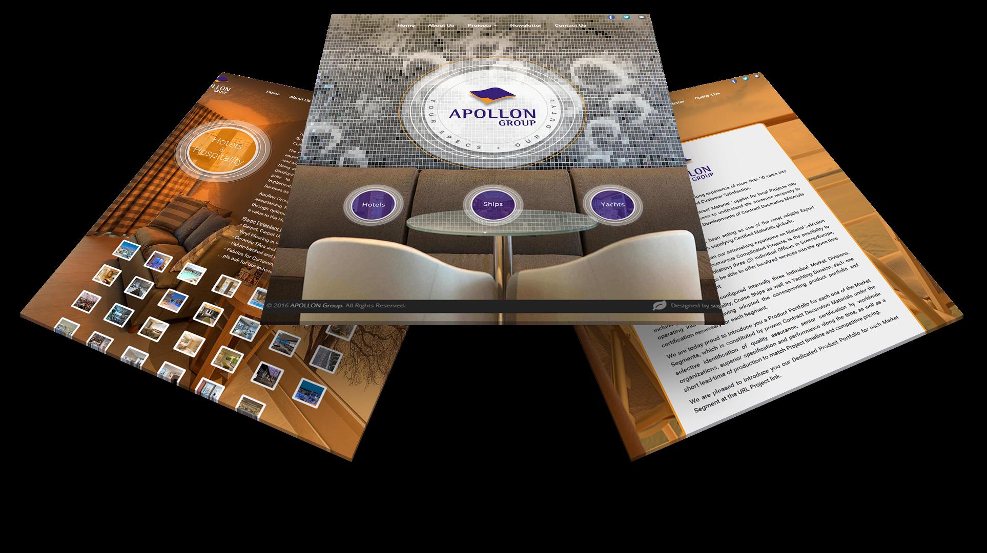 appollon κατασκευή ιστοσελίδας δειγμα