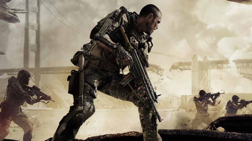 cod advanced warfare poster 2014
