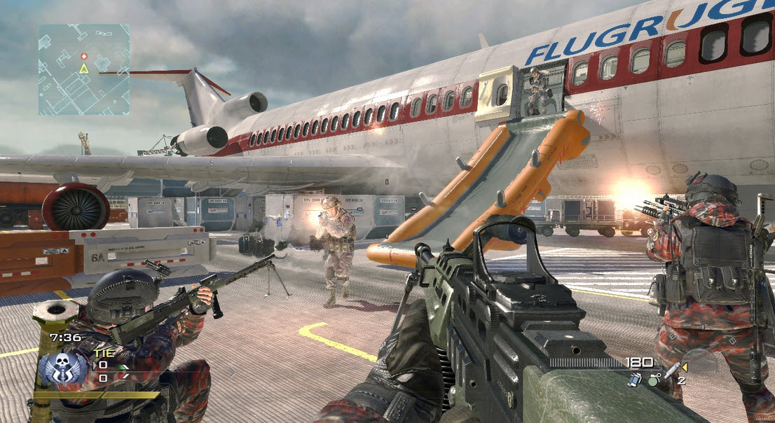 fps video game warfare 2 call of duty cod