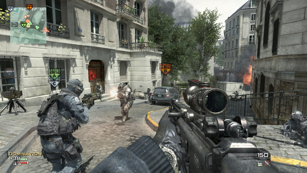 cod warfare 3 fps first person shooter multiplayer