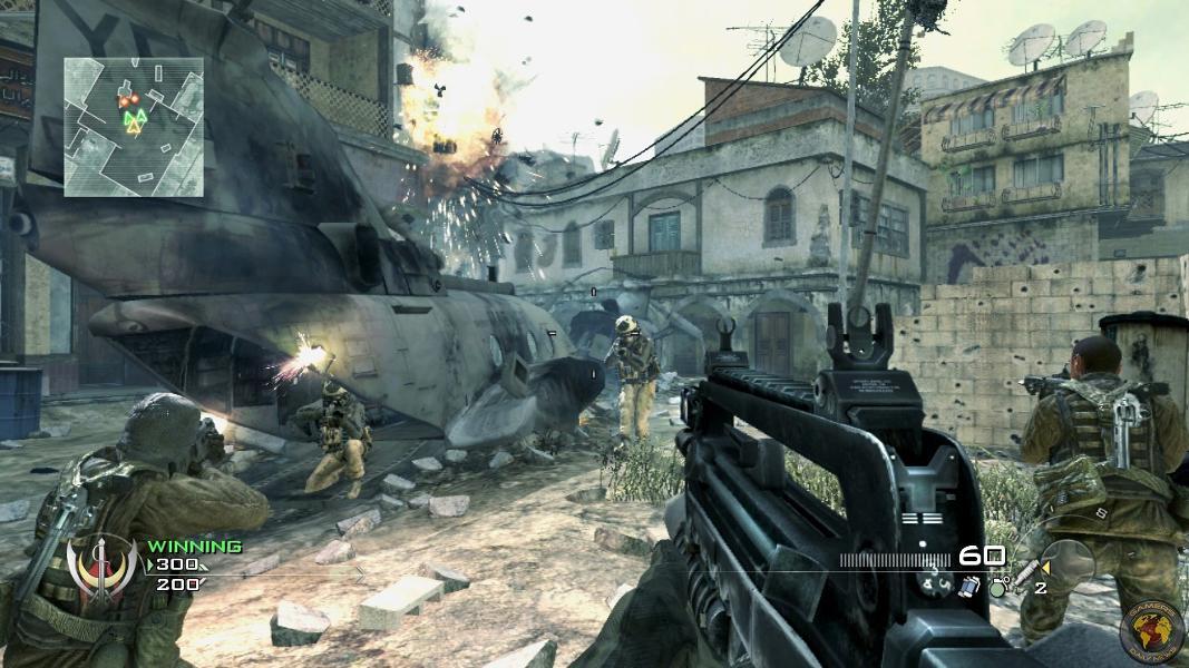 warfare 2007 παιχνίδια κονσόλα fps
